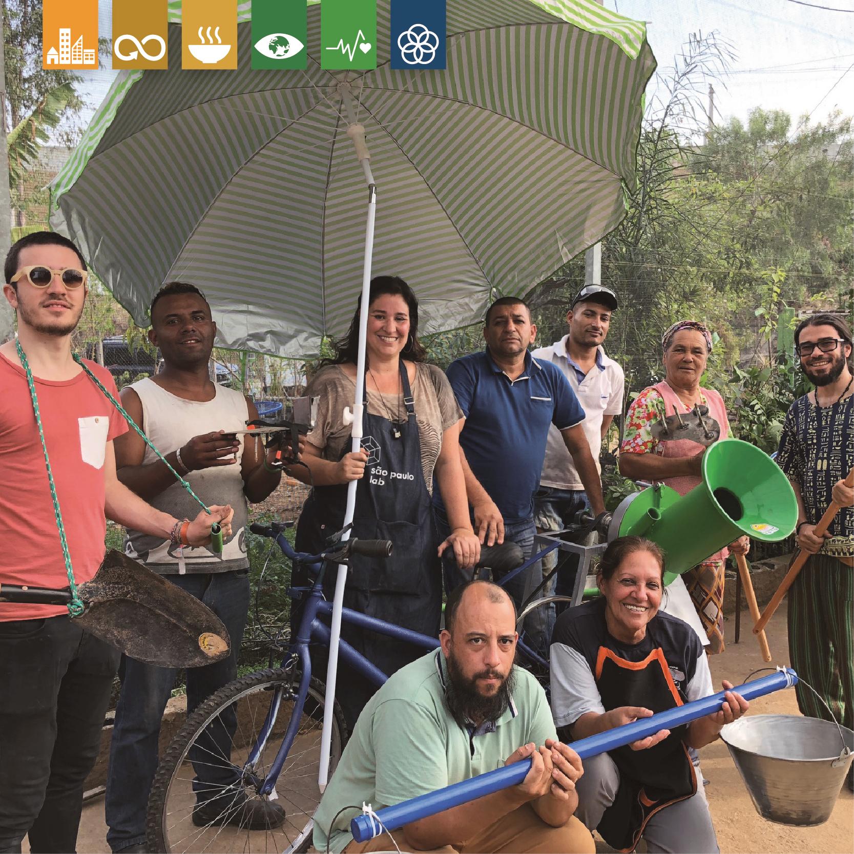 maratona agro-gym - Como estimular os vizinhos a se envolverem na horta comunitária através de atividades físicas?
