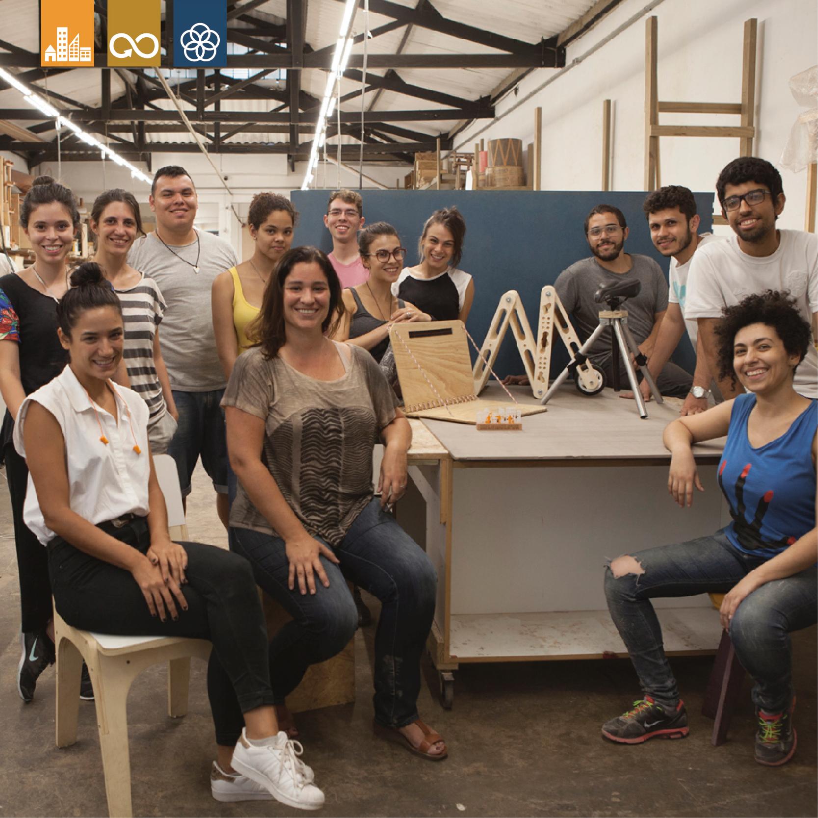 hackathon paulista - Como oferecer espaços de estar temporários aos usuários da Paulista Aberta?