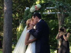 caleb wedding kiss