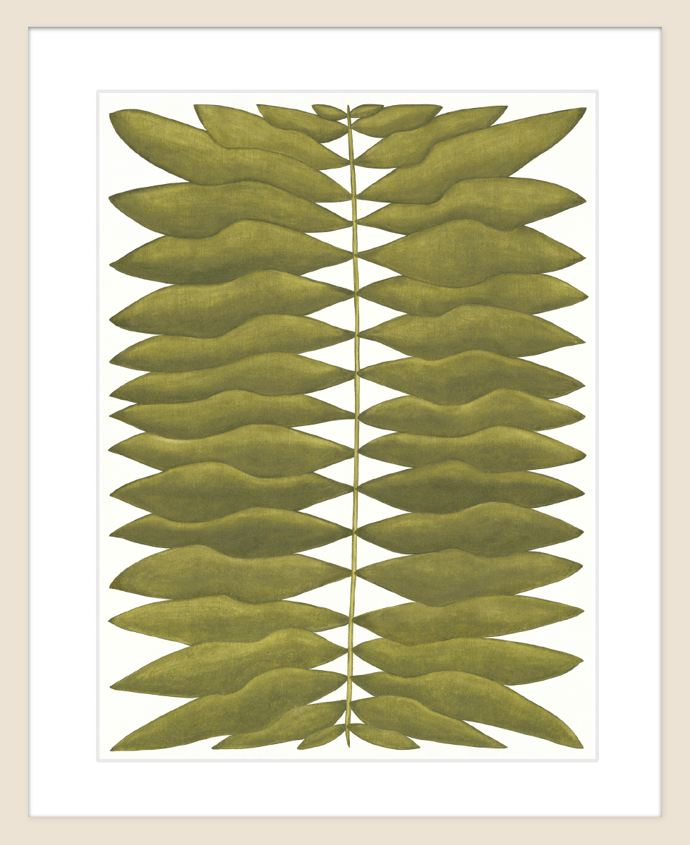 "Expressus Polystichum:  available at   Saatchi Art     Limited Edition of 100    PRINT SIZE  12"" h x 9"" w   PRINT MATERIAL  Fine Art Paper"