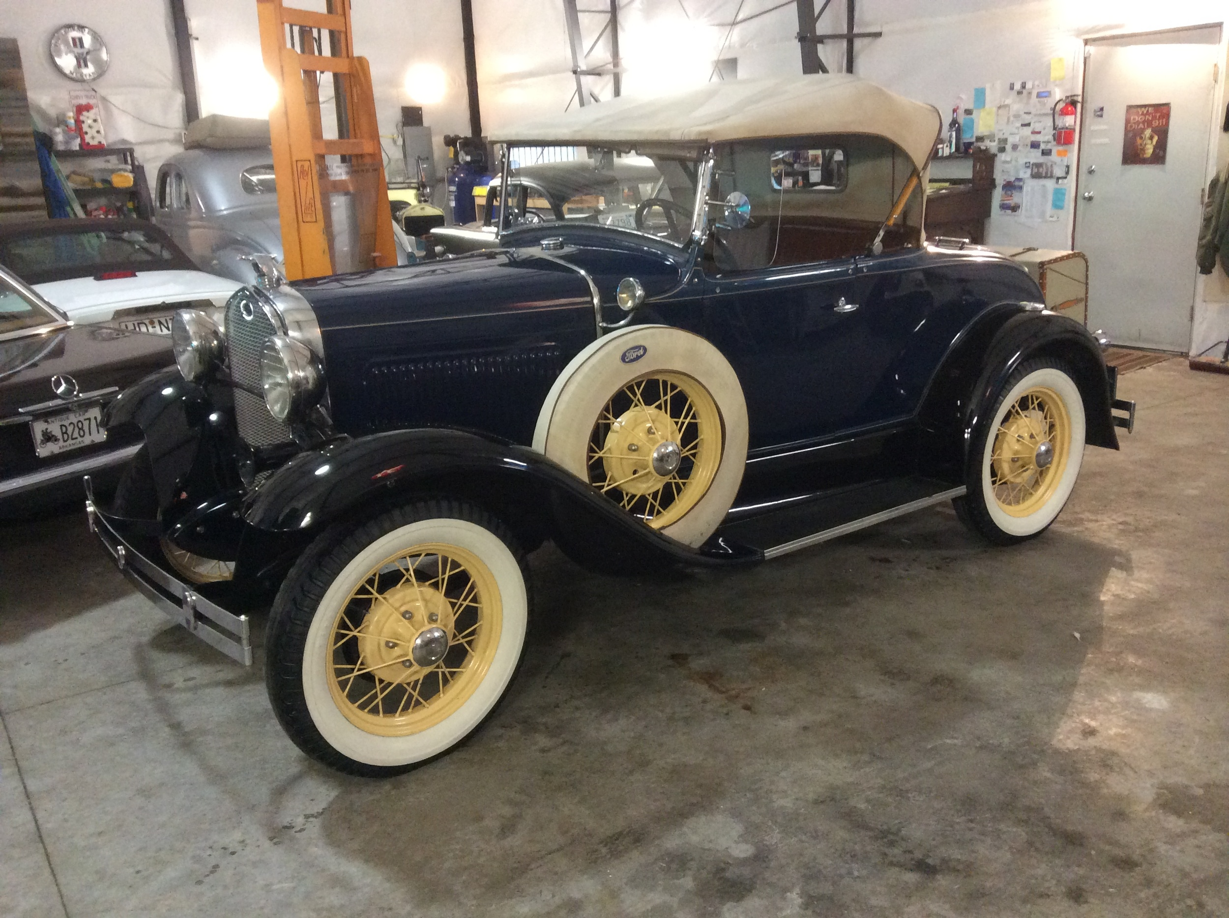 "1931 Ford Model A Roadster<div class=""sold"">sold</div>"