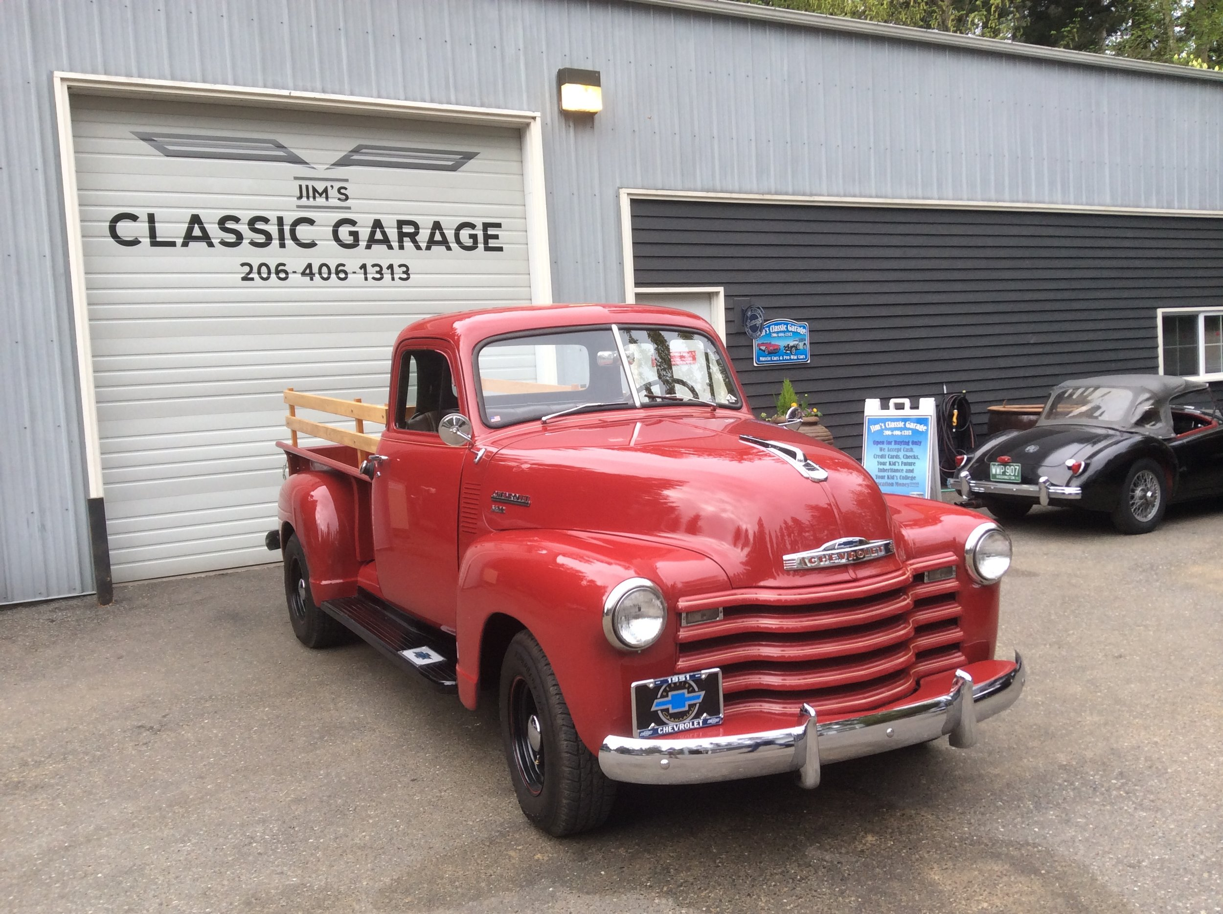 "1951 Chevy 3600 Pick up<div class=""sold"">SOLD</div>"
