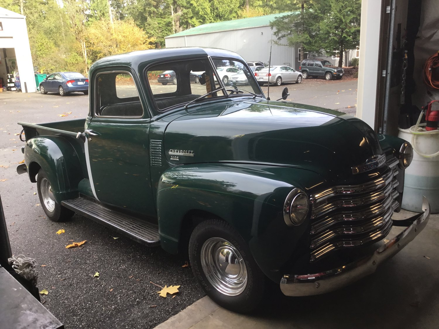 "1950 Chevrolet 3100 1/2 Ton <div class=""sold"">SOLD</div>"