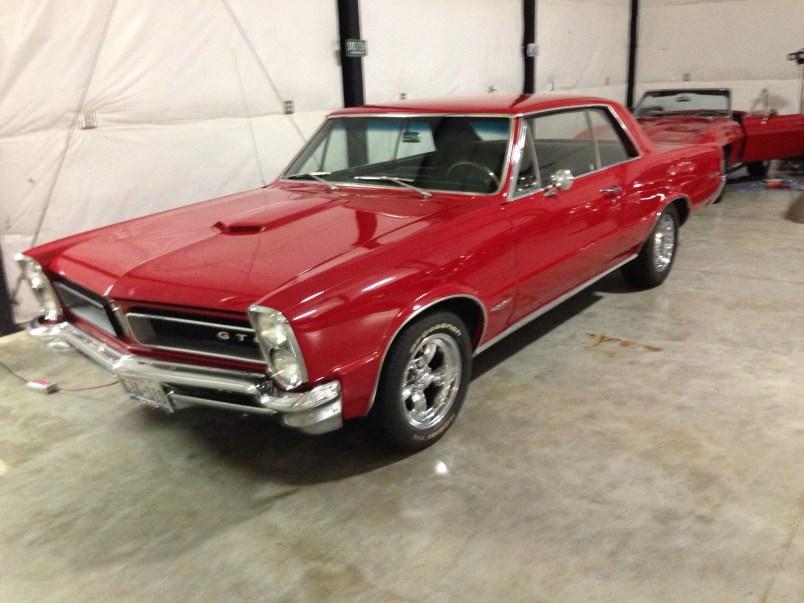 """1965 Pontiac GTO<div class=""""sold"""">SOLD</div>"""