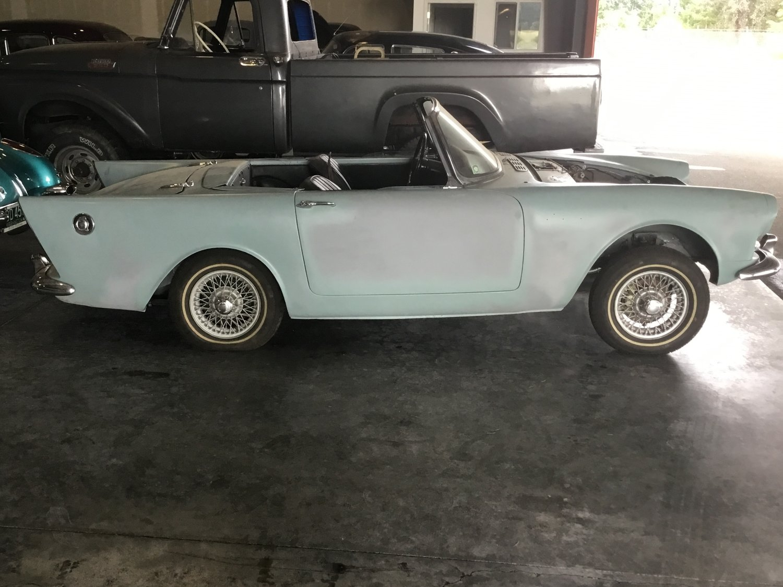 "1962 Sunbeam Alpine Series II<div class=""sold"">SOLD</div>"