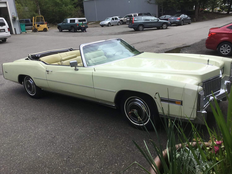 "1976 Cadillac Eldorado<div class=""sold"">SOLD</div>"