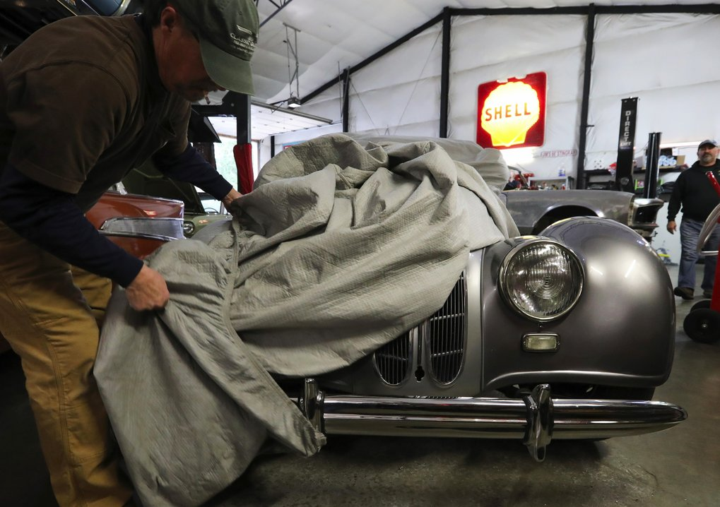 In the news - Jim's Classic Garage was recently featured in the Seattle Times. Please click the button below to view the article.