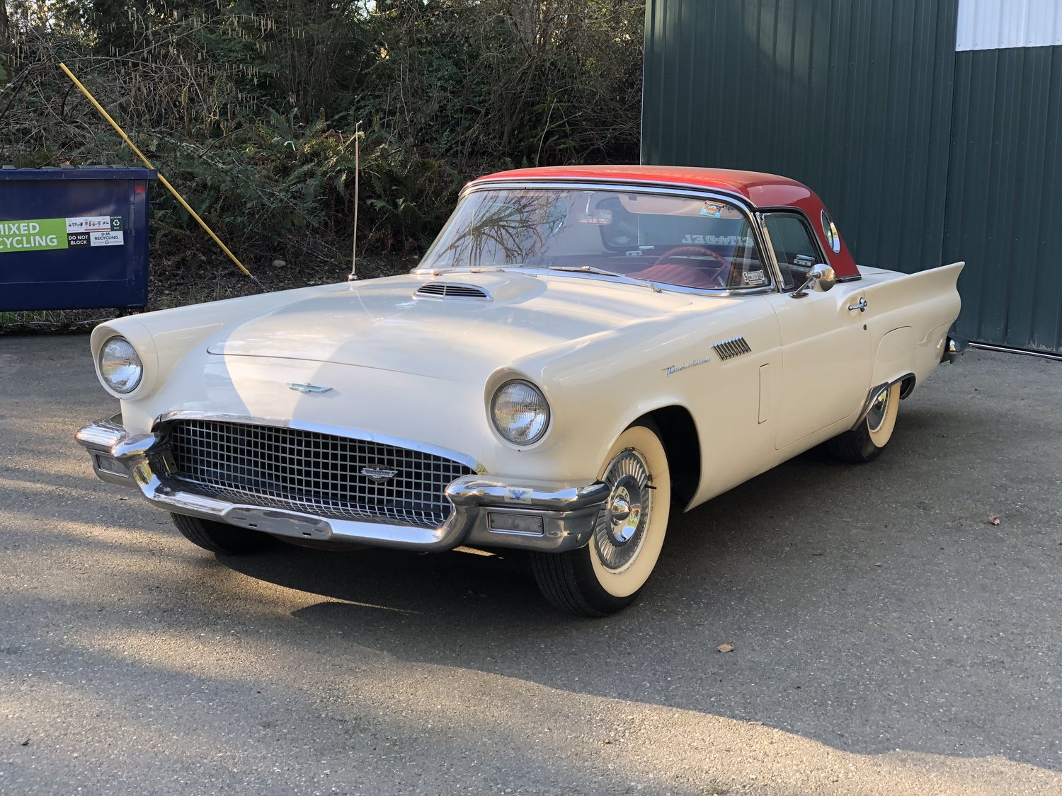 "1957 Ford Thunderbird <div class=""sold"">SOLD</div>"