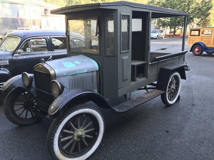 1926 ford model t huckster  sold