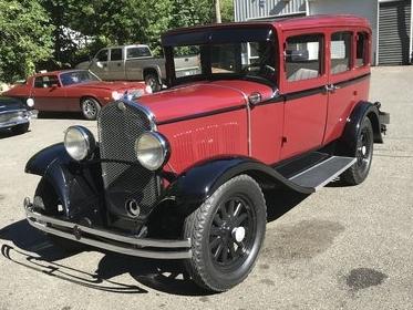 1930 chrysler cj-6  sold