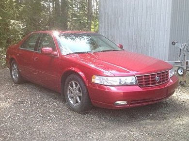 1998 cadillac seville  sold