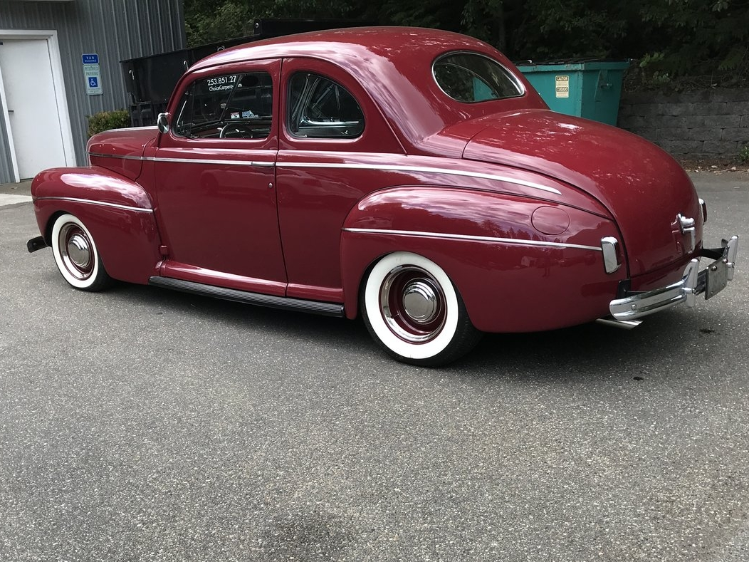 1941 FORD SUPER DELUXE SEDAN  SOLD