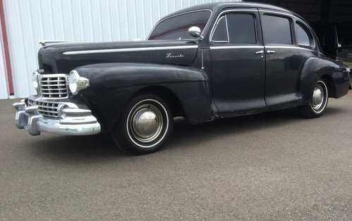 1948 lincoln zephyr sedan  $18,500