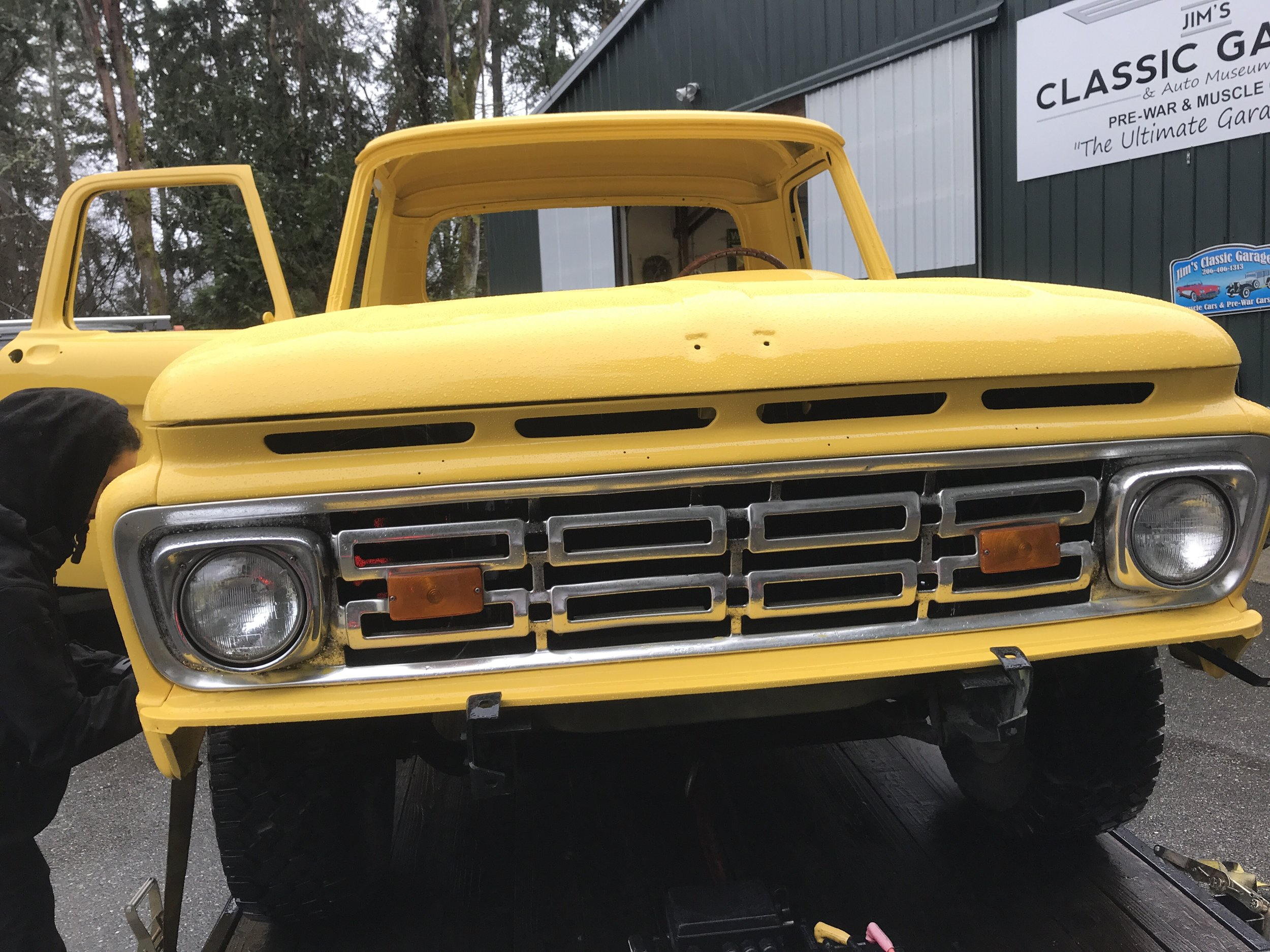 1964 FORD F100 in process