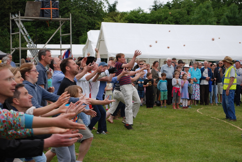 Egg Throwing Competition -