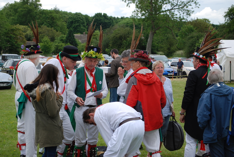 Traditional Dancing - Morris dancing and a Maypole.