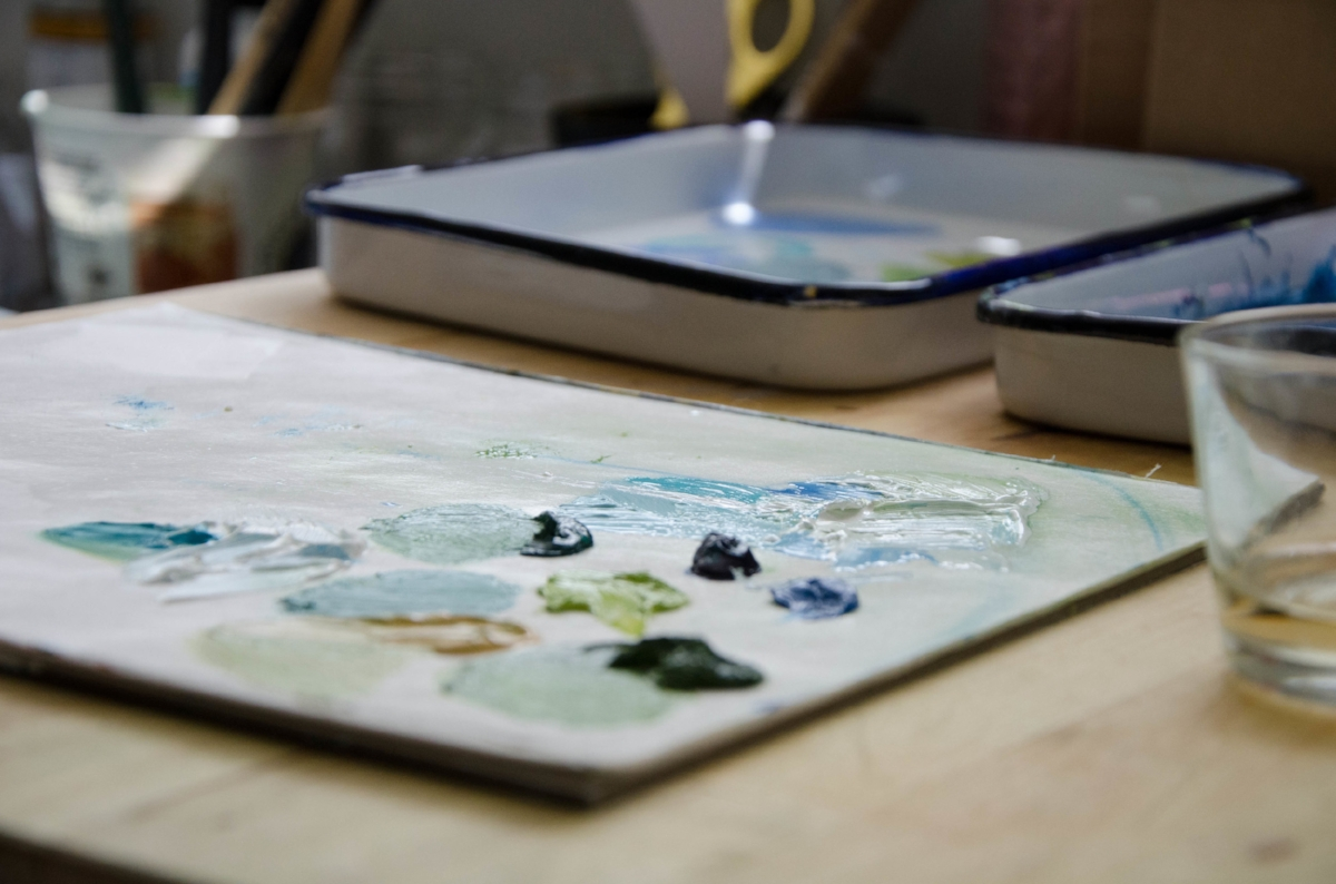 View my creative work space -