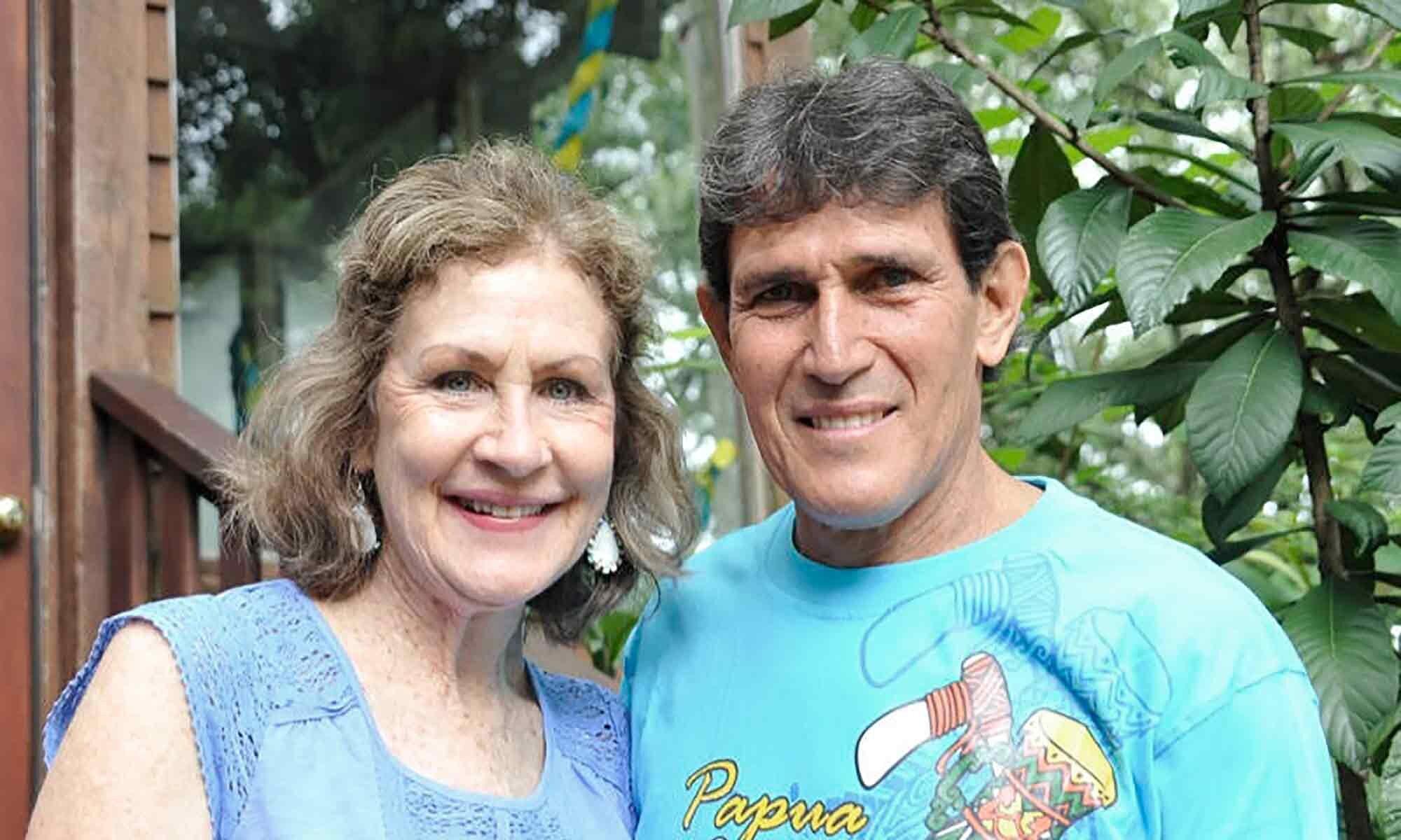 John & Joy Cutts - Papua