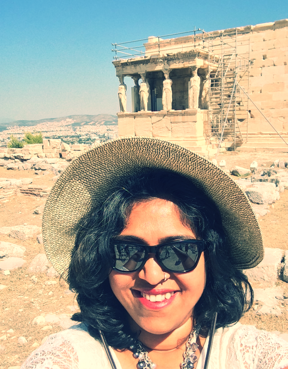 At the Acropolis,Greece in the summer of 2015. An architectural dream come true!