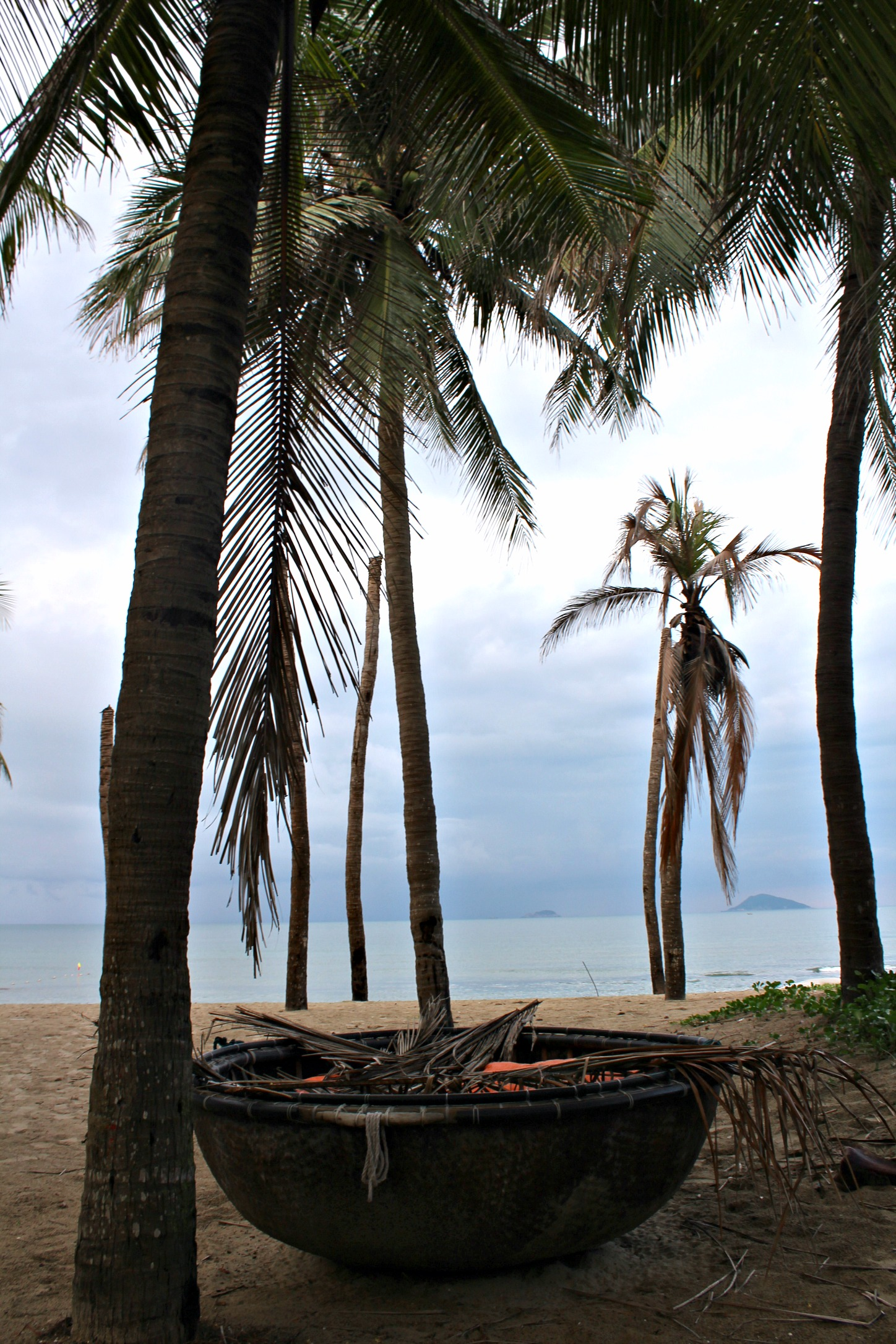 golden hour at Cua Dai Beach
