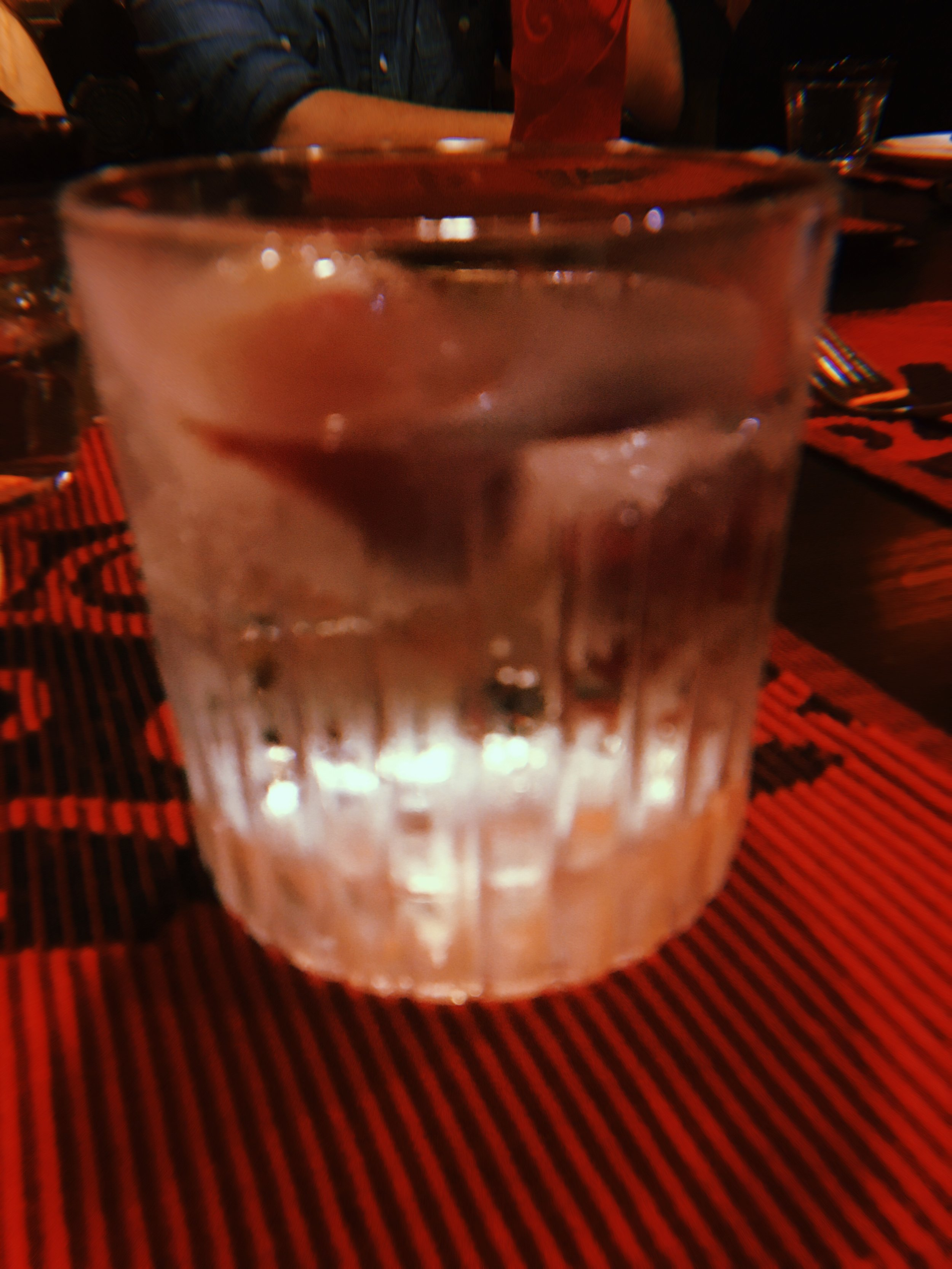 a cheeky good-bye gin and tonic