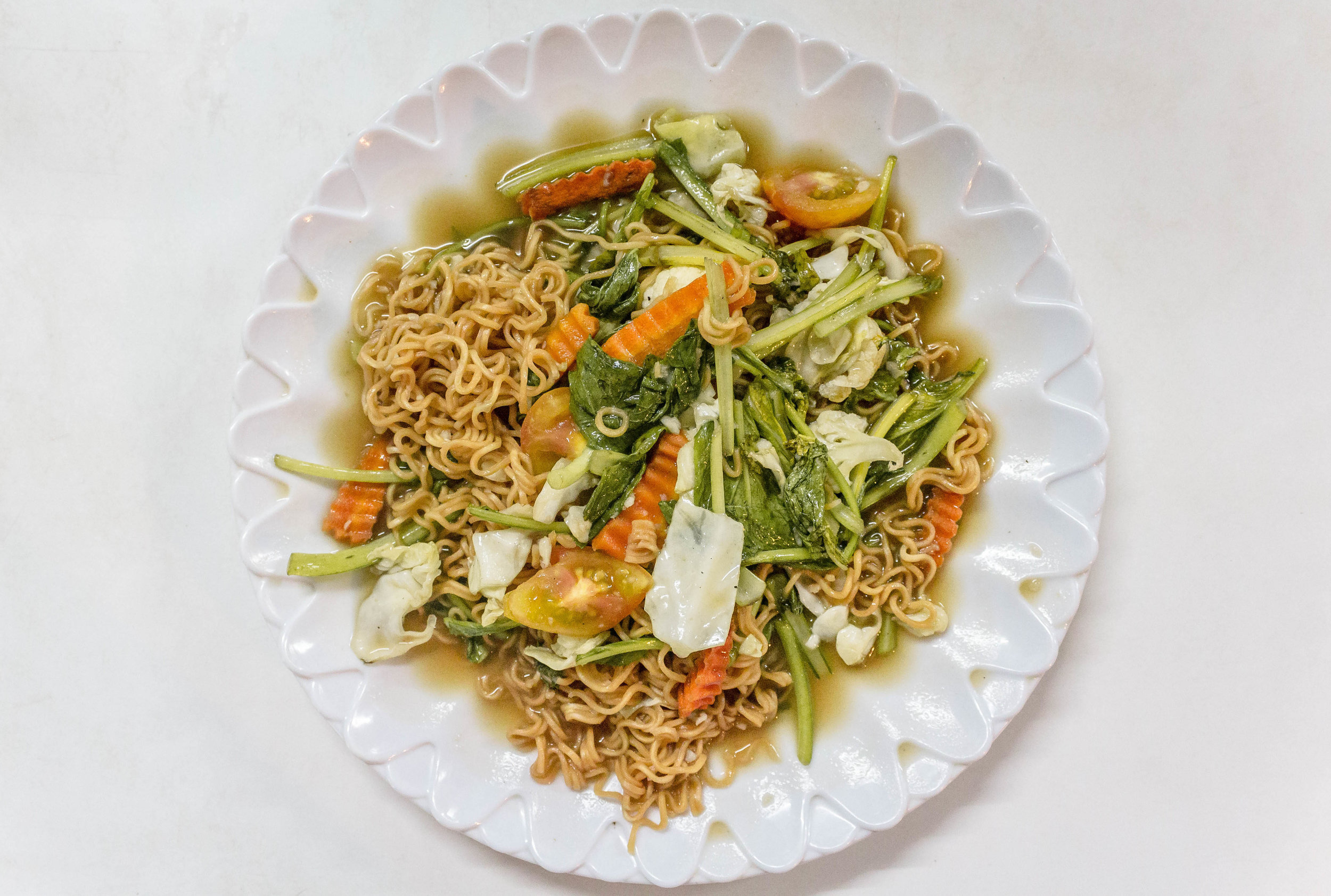 Bamboo's fried yellow noodle