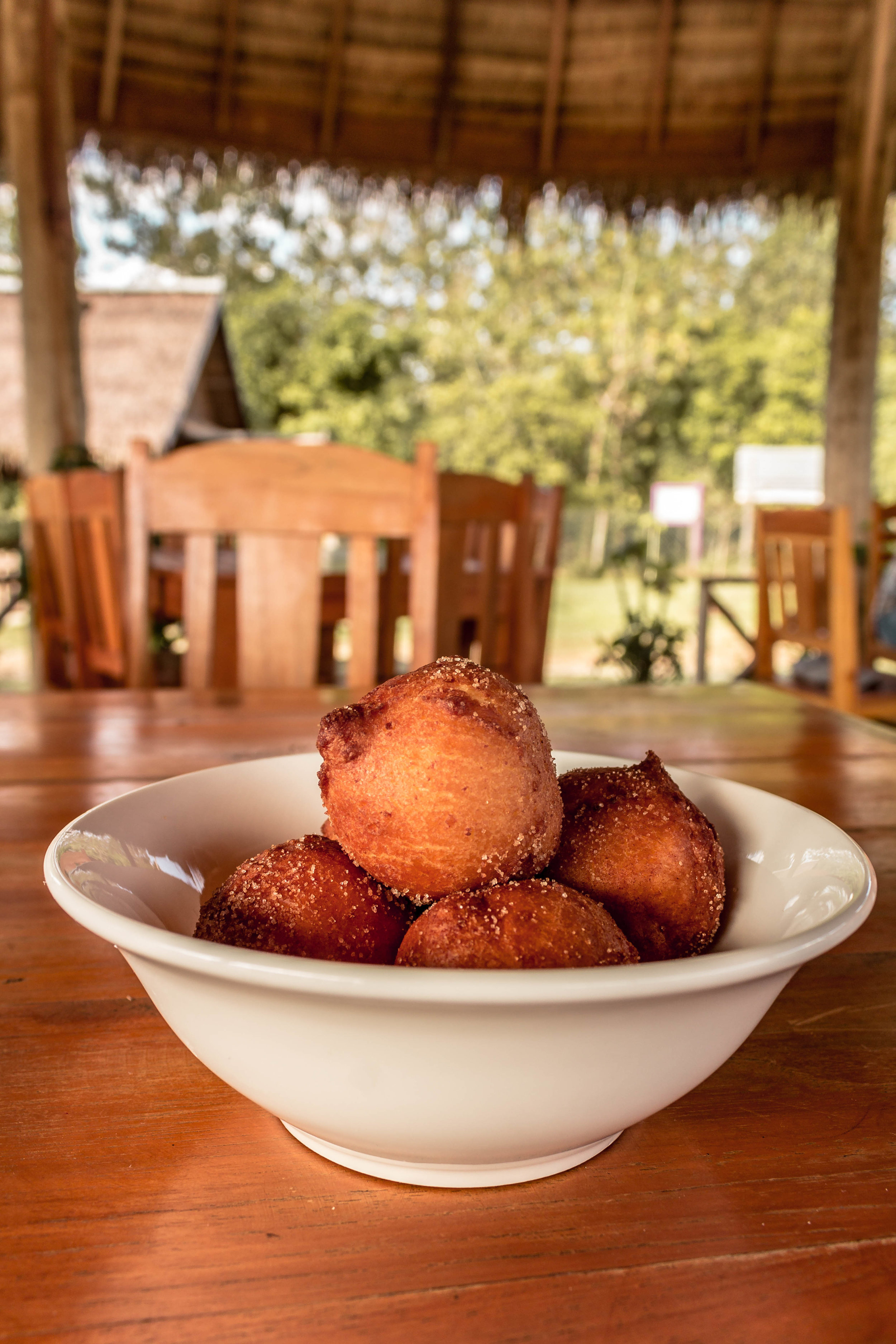 RICOTTA DONUTS SERVED HOT AND FRESH