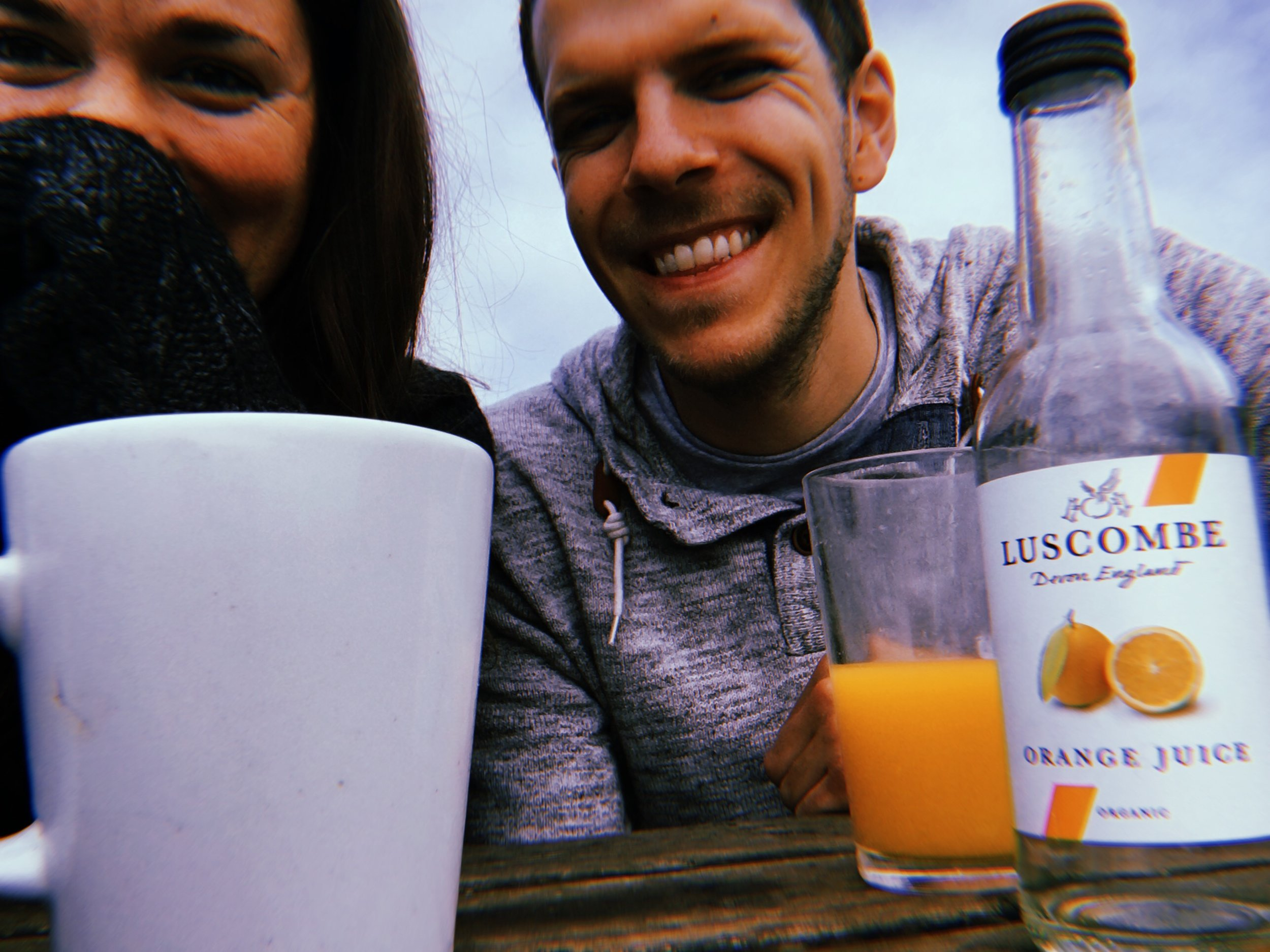 LUKE + I IN BEER, DEVONSHIRE AFTER A MORNING TREK TO BRANSCOMBE | AUGUST 2018