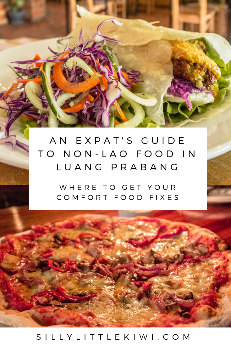 where to find non-lao foods in Luang Prabang, Laos