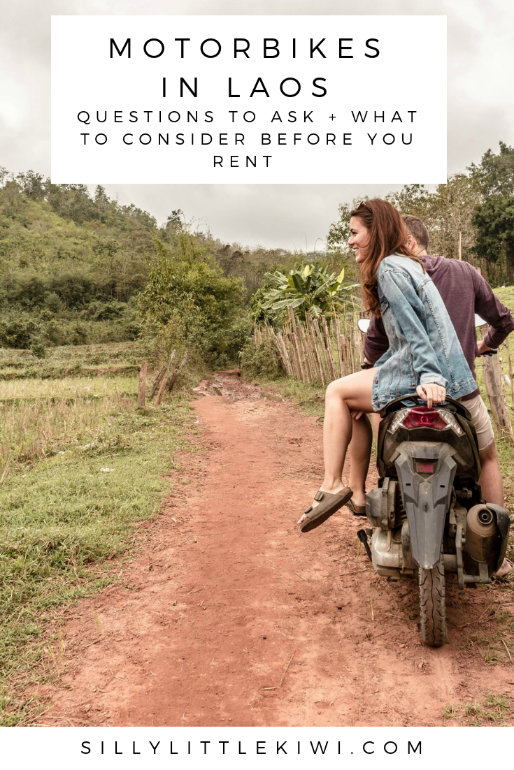 a complete guide to renting a motorbike in Laos