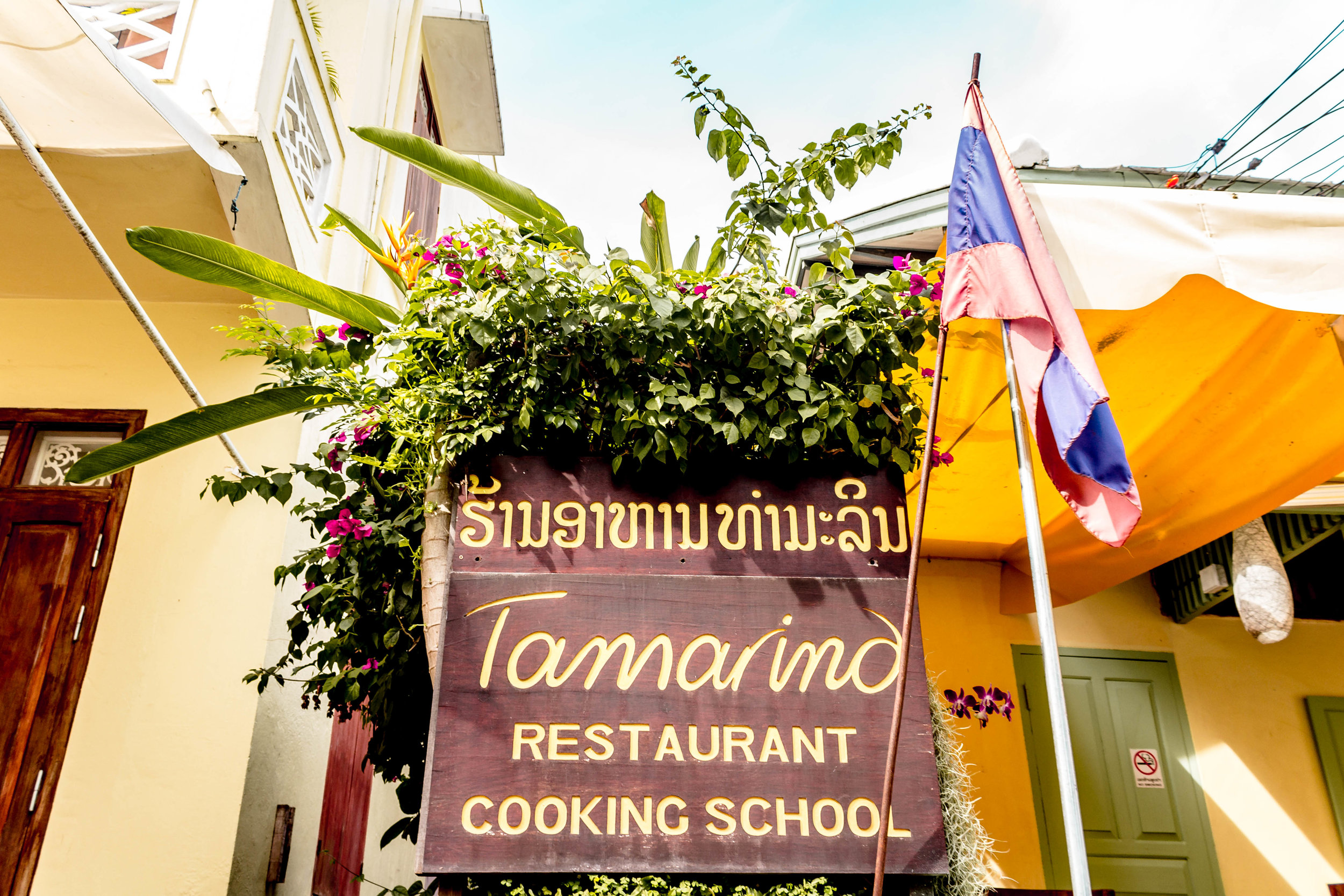 Tamarind Cooking School in Laos
