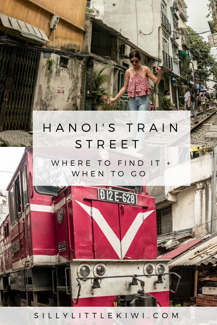 a guide to Hanoi's Train Street: where to find it and when to go