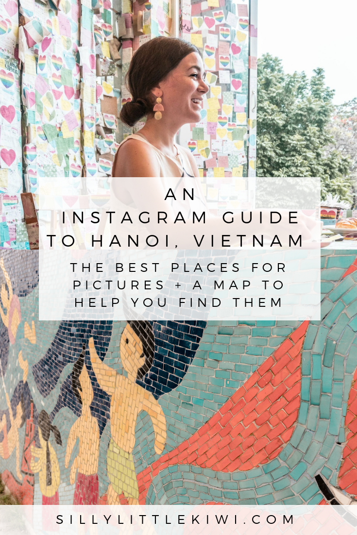 an Instagram guide to Hanoi, Vietnam: the best places for pictures + a map to help you find them