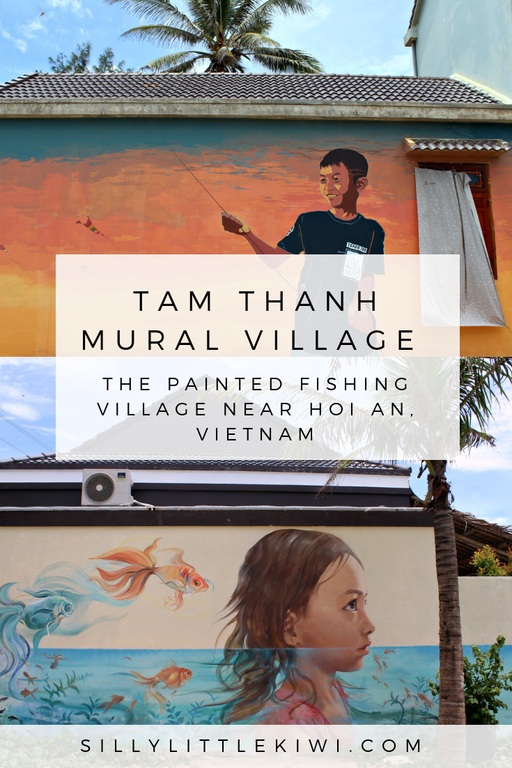 a guide to Tam Thanh Mural Village: the fishing village near Hoi An,  Vietnam