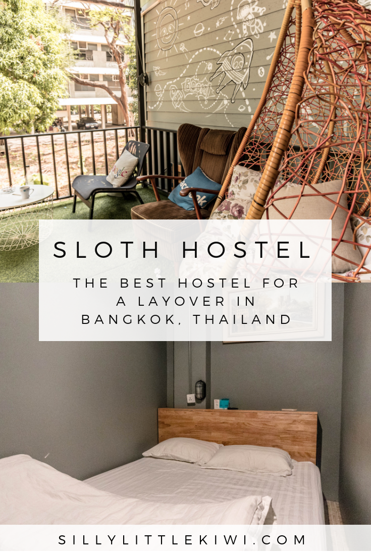 SLOTH HOSTEL DON MUANG- The very best hostel for a layover in Thailand