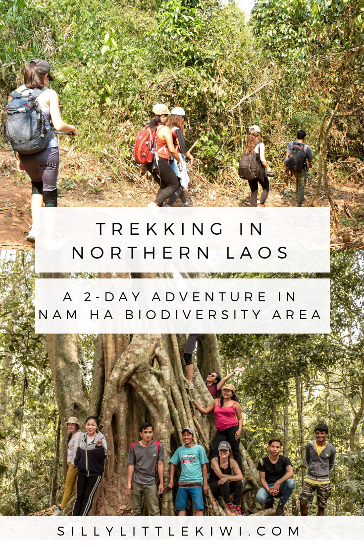 a guide to trekking in northern Laos