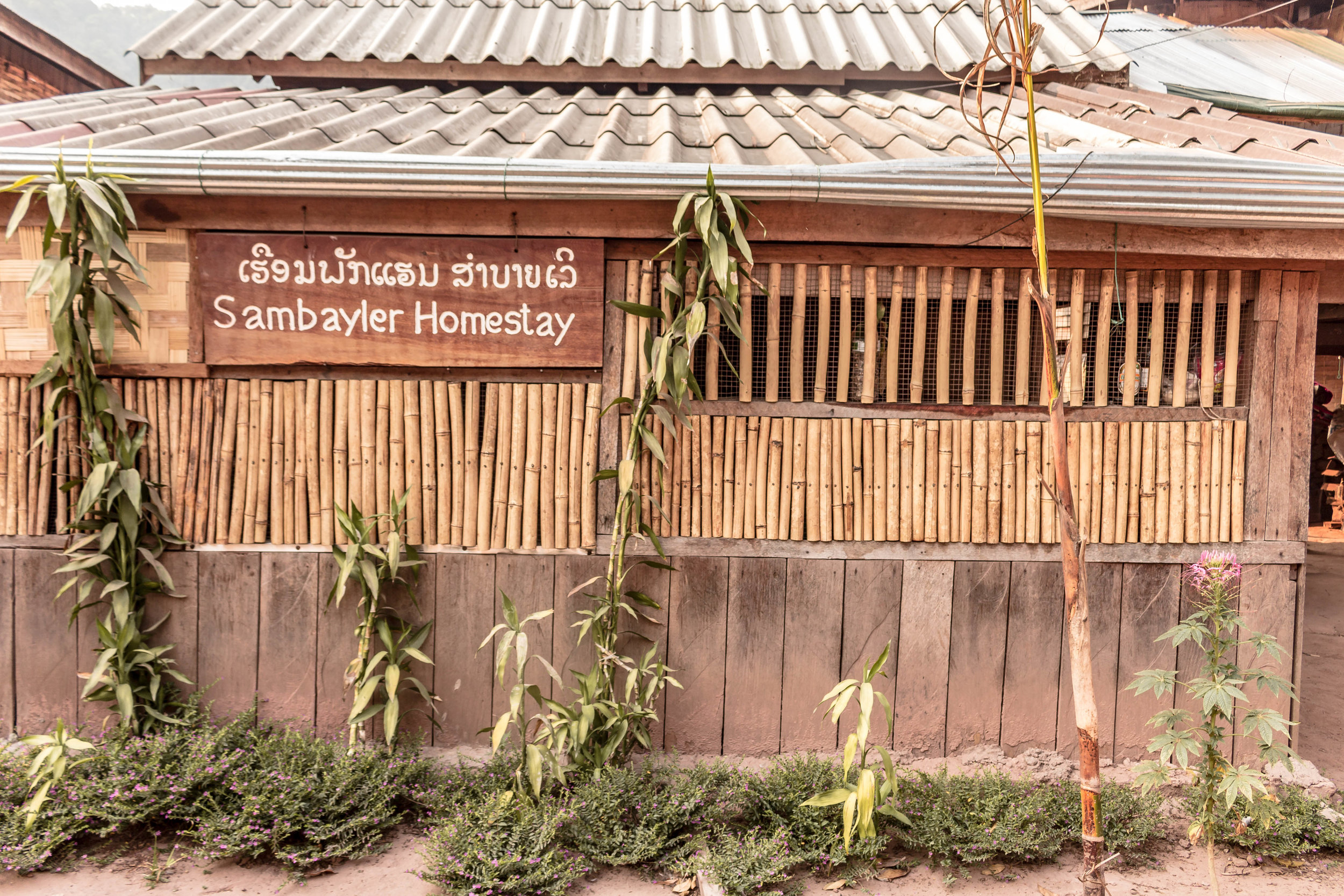 SAMBAYLER HOMESTAY IN NA LA VILLAGE