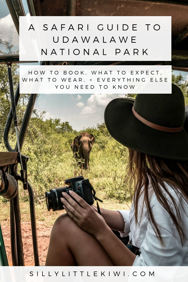a safari guide to udawalawe national park, sri lanka