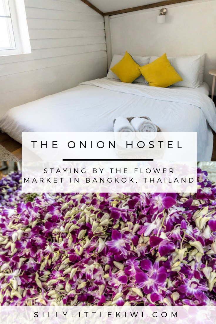 THE ONION HOSTEL IN BANGKOK, THAILAND