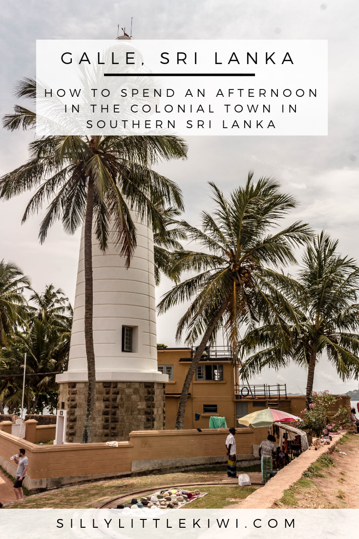 A GUIDE TO GALLE, SRI LANKA