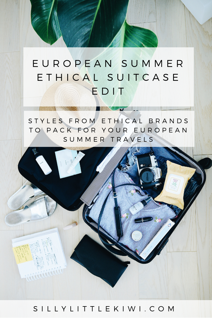 WHAT TO PACK FOR YOU EUROPEAN SUMMER TRAVELS