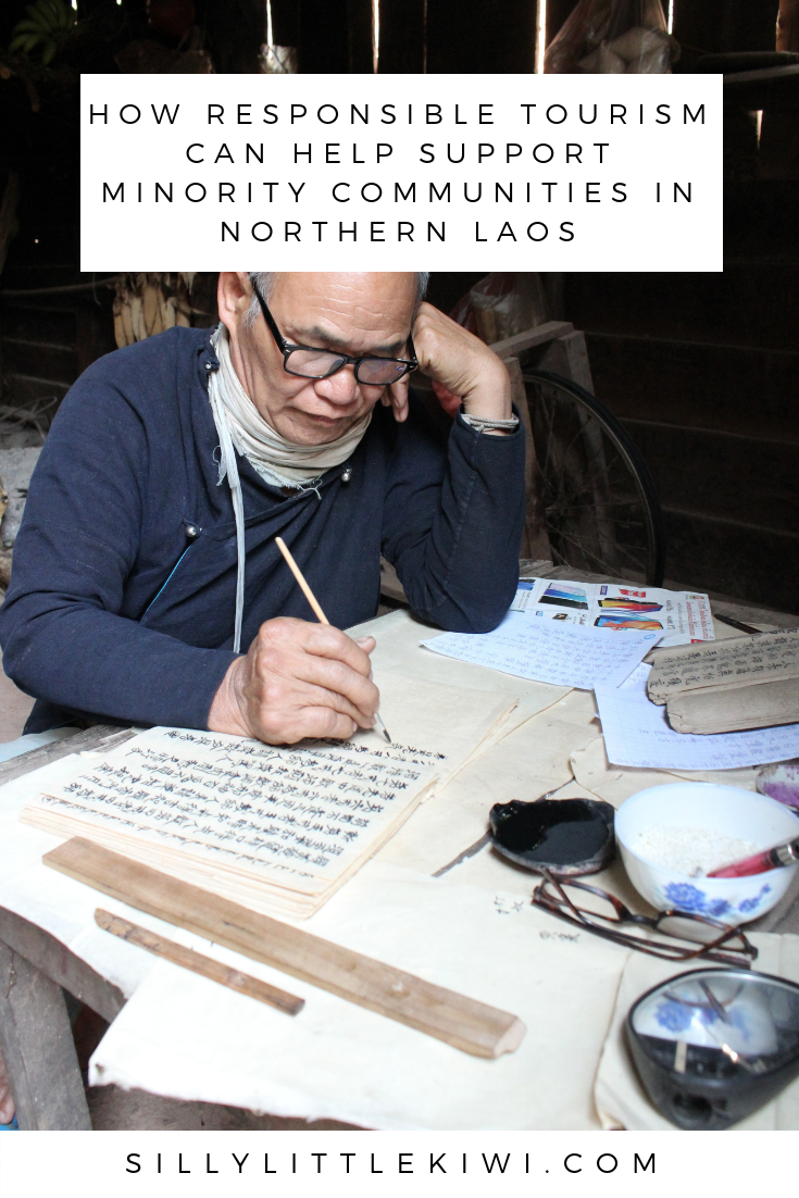 how responsible tourism can help support minority communities in northern Laos