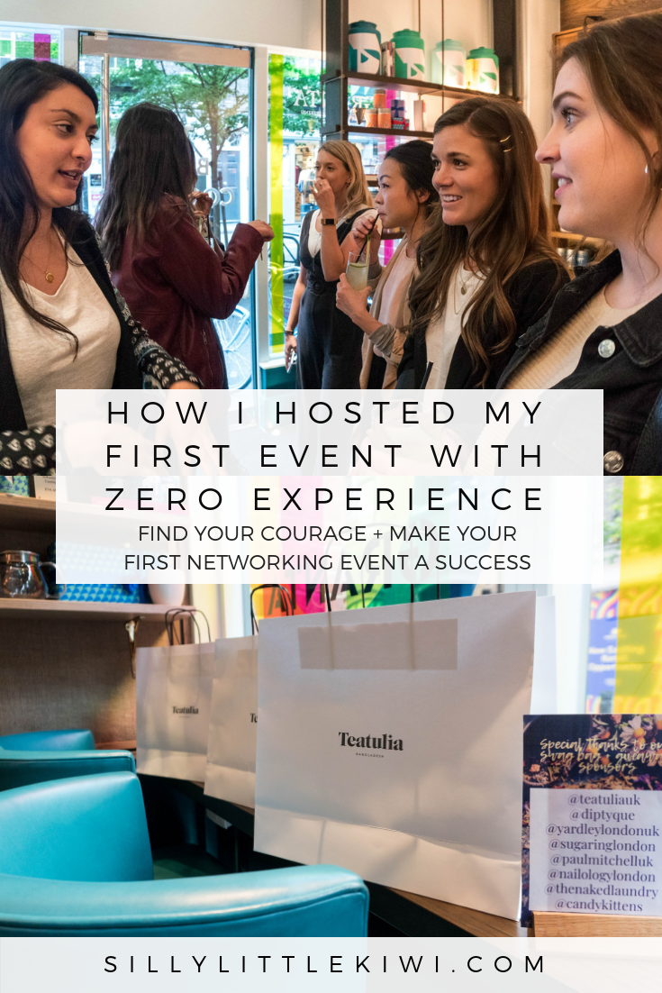 HOW I HOSTED MY FIRT EVENT WITH ZERO EXPERIENCE