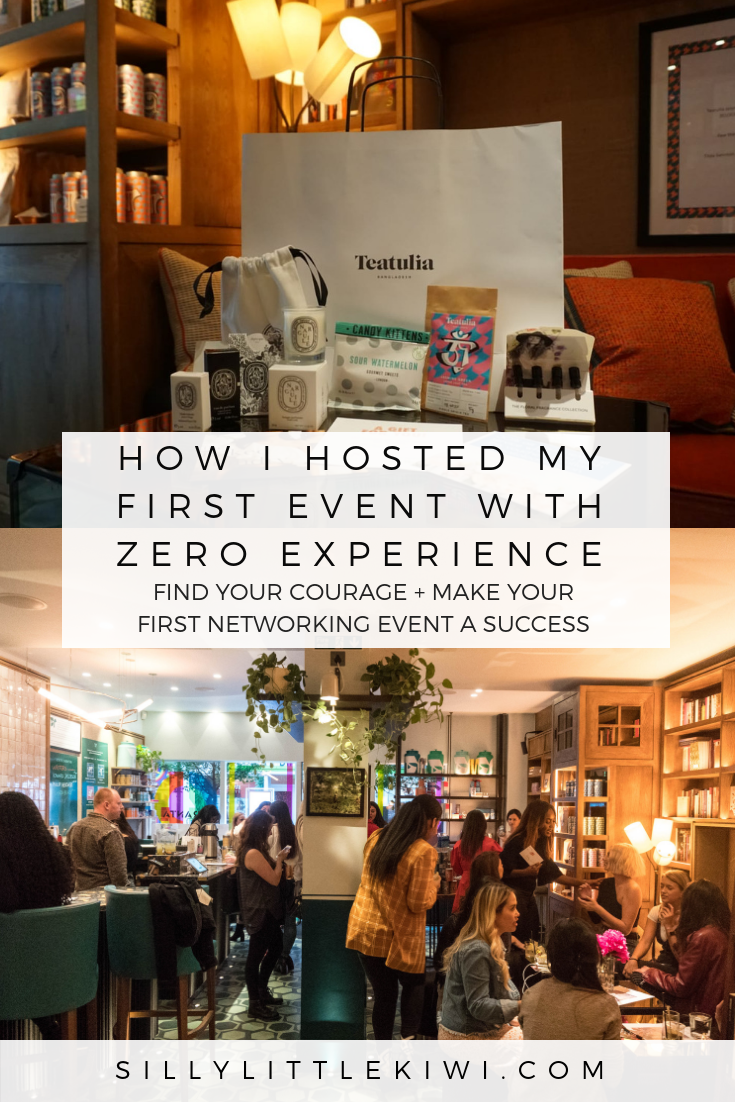 HOW I HOSTED MY FIRST EVENT WITH ZERO EXPERIENCE