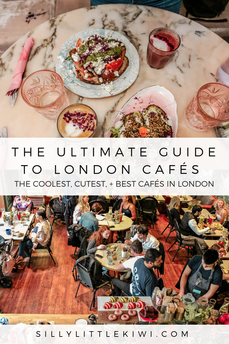 A GUIDE TO THE BEST CAFES IN LONDON: the coolest, cutest, and overall best places for coffee + brunch in London