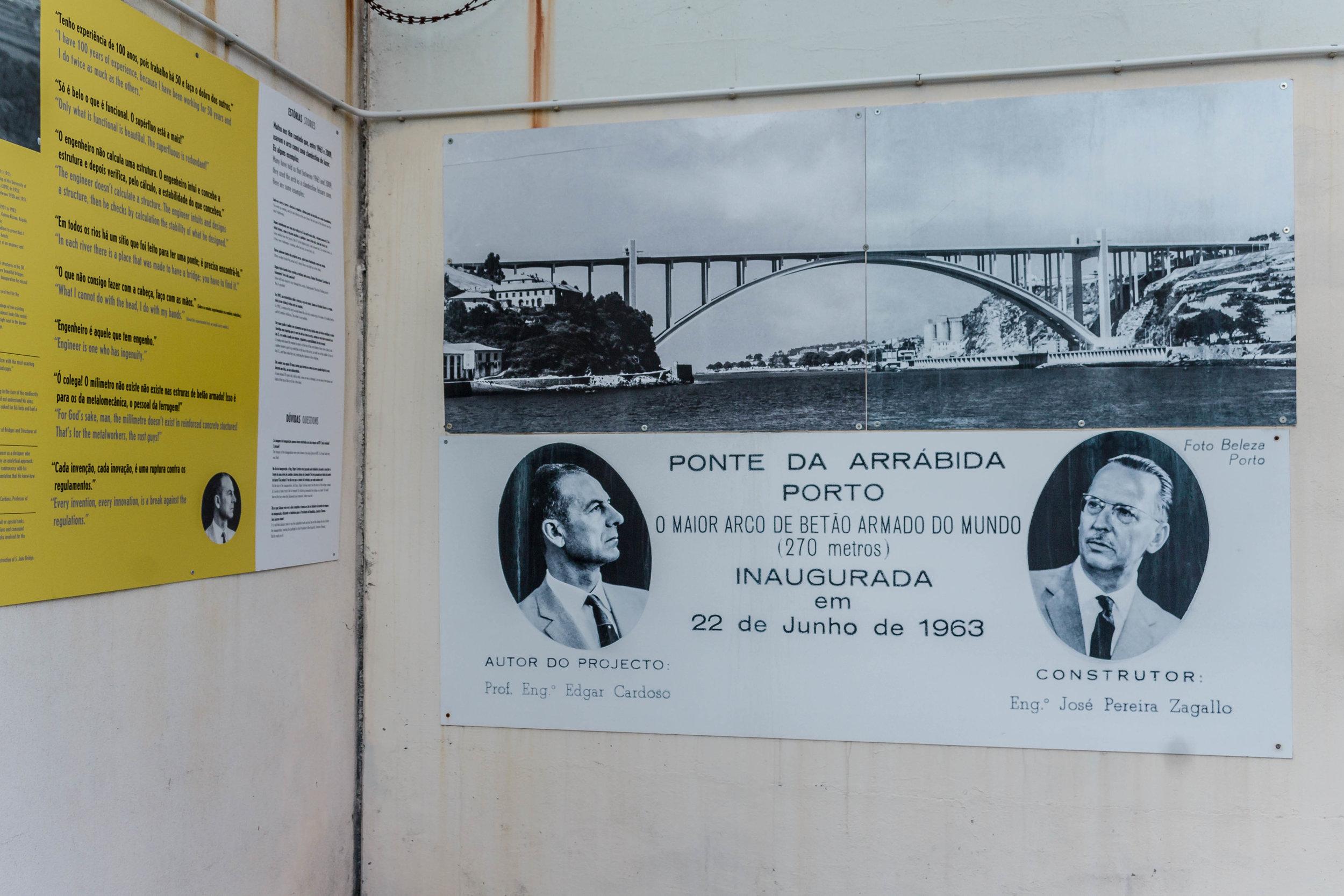 The Porto Bridge Climb takes place over Arrábida Bridge on the Western side of Porto.