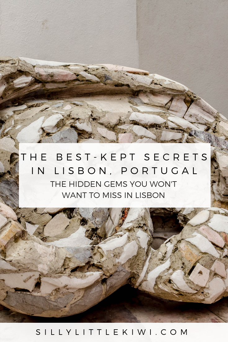 the best kept secrets in Lisbon, Portugal and a map to help you find them!