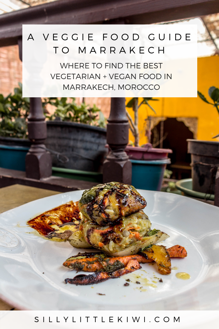 a veggie food guide to Marrakech: where to find the best vegetarian + vegan food in Marrakech, Morocco