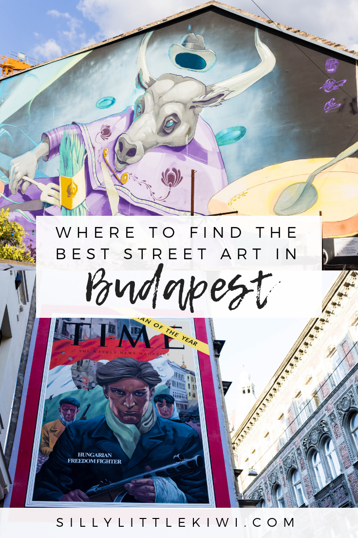 where to find the best street art in Budapest + what to expect on BudapestFlow's locally-led tours