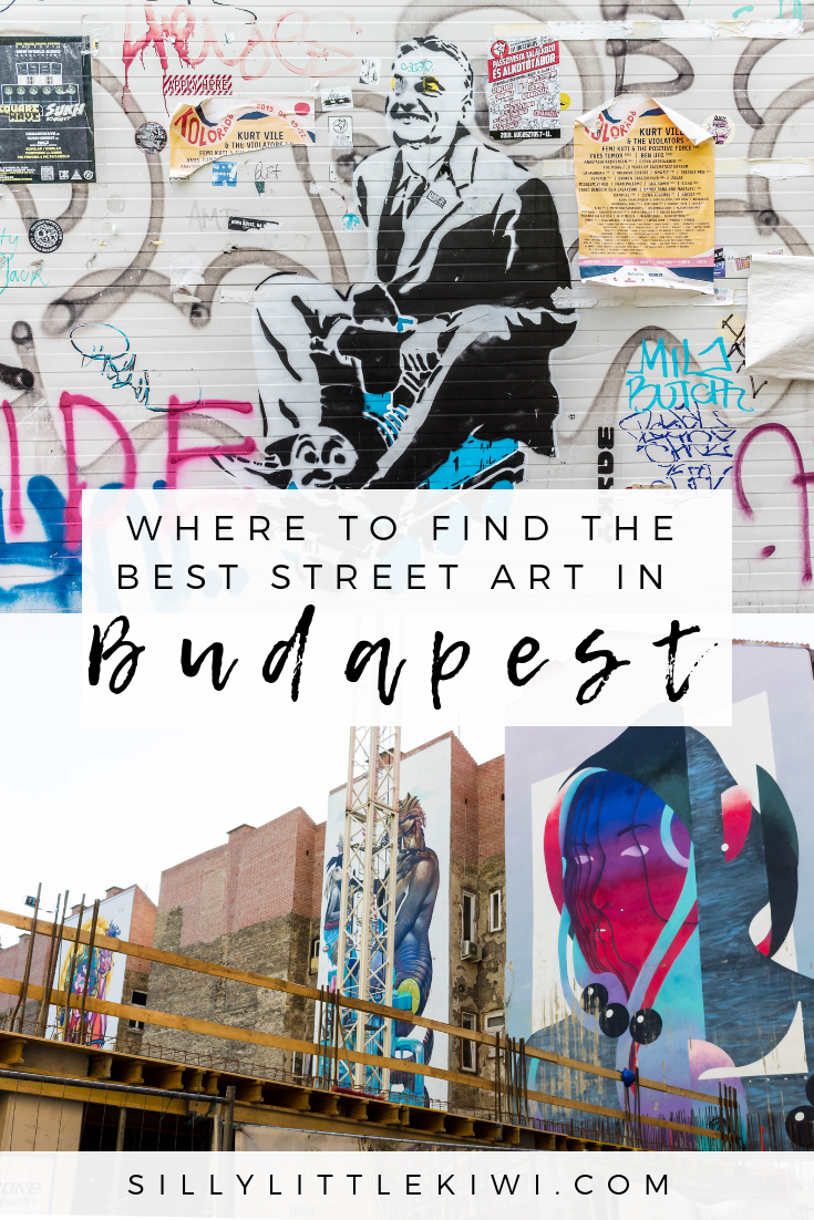where to find the best street art in Budapest: a locally-led street art tour with BudapestFlow